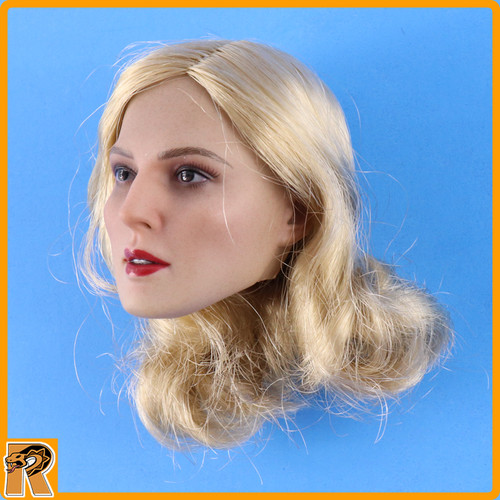 Female SS Officer - Blonde Head (Short Hair) #1 - 1/6 Scale -