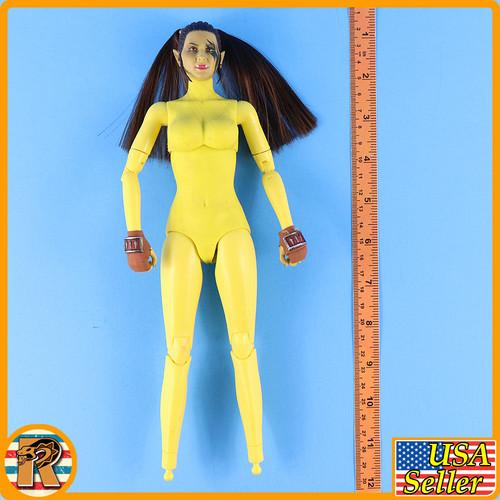 Garona Halforcen Female Orc - Nude Figure w/ Head & Hands - 1/6 Scale -