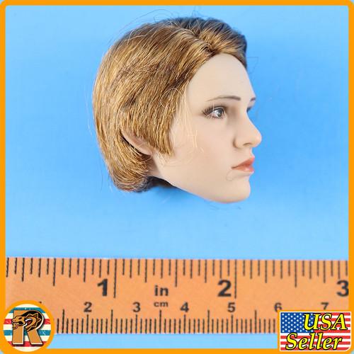 Marty Head Sculpt - Wavy Bob Hair B #2 - 1/6 Scale -