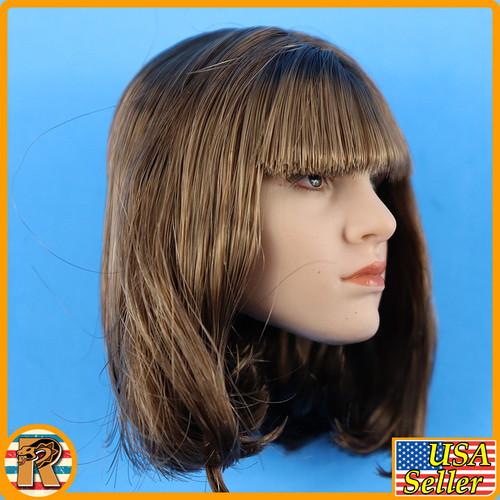 Marty Head Sculpt - Medium Bob Hair C #3 - 1/6 Scale -