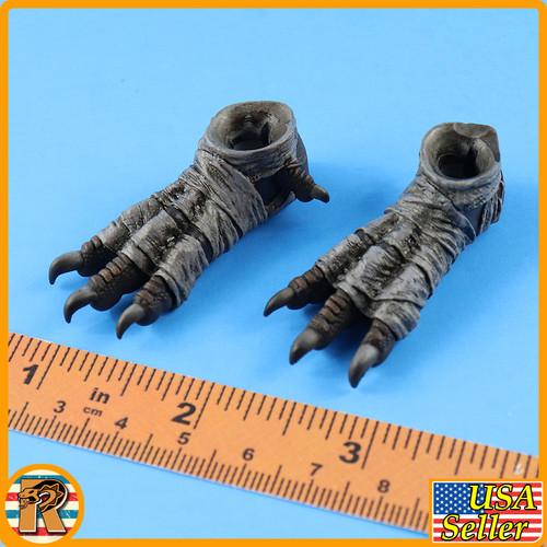 Month Deity of War (SILVER) - Falcon Female Feet - 1/6 Scale -