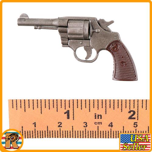 Bucky Barnes Winter Warrior - Revolver w/ Shoulder Holster - 1/6 Scale -