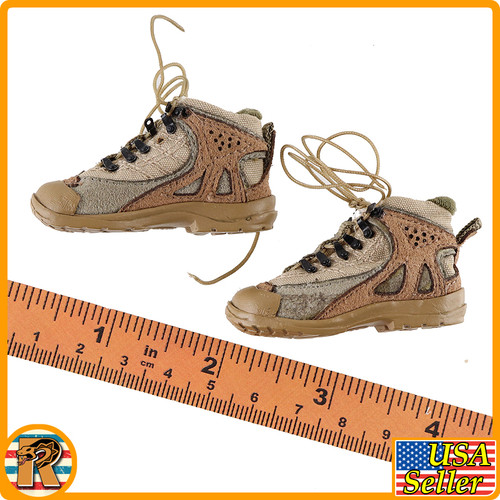End War Ghost X - Boots (For Feet) - 1/6 Scale -