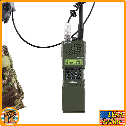 End War Ghost X - Tactical Radio Set - 1/6 Scale -