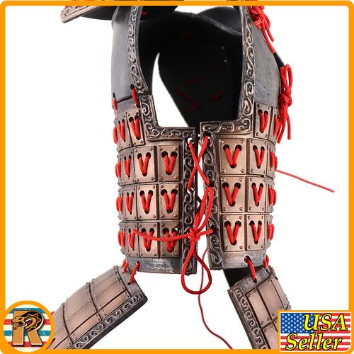 Qin Army Zhao Kuang - Metal Body Armor - 1/6 Scale -