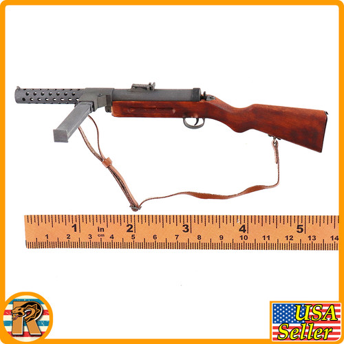 Sparks of Fire Firefly Seizure - MP18 SMG (Wood & Metal) - 1/6 Scale -