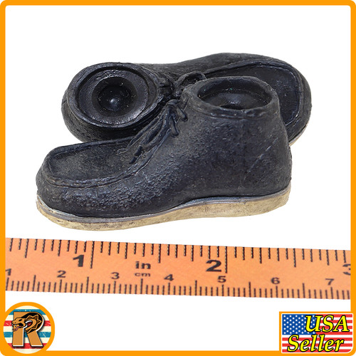 Heisenberg Walter White - Boots (for Pegs) - 1/6 Scale -