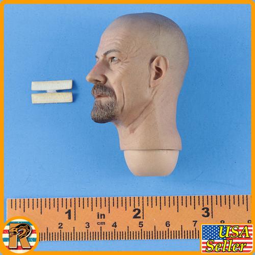Heisenberg Walter White - Head w/ Bandages - 1/6 Scale -