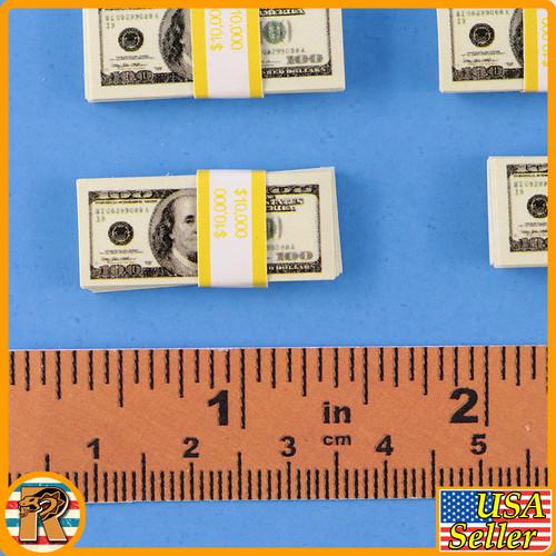 Heisenberg Walter White - Money Bundles x5 - 1/6 Scale -