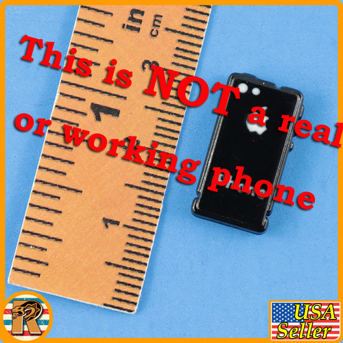 DP - Black Cell Phone #1 - 1/6 Scale -