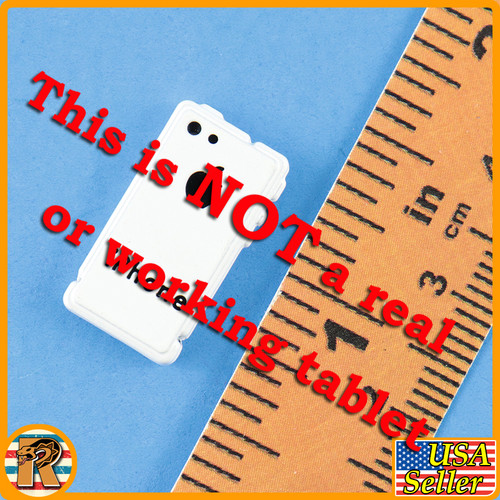 DP - White Cell Phone #3 - 1/6 Scale -