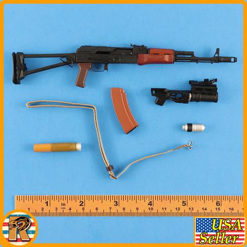 Russian Spetsnaz GRU Dagestan - AKS74 Rifle Set - 1/6 Scale -