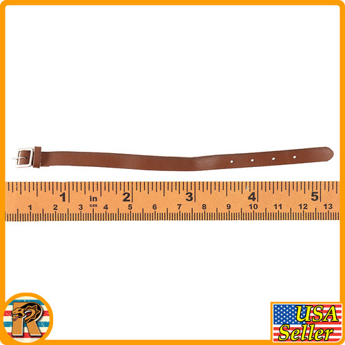 Bomb Girl - Small Leather Belt - 1/6 Scale -