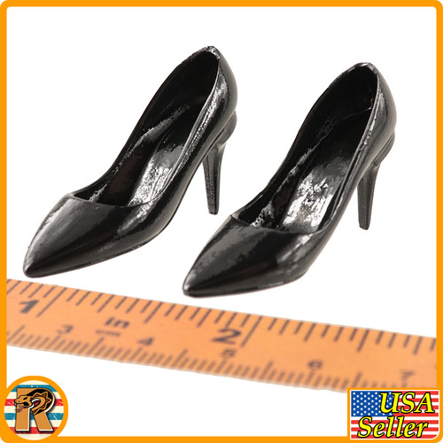 Bomb Girl - High Heel Shoes (arched Feet) - 1/6 Scale -