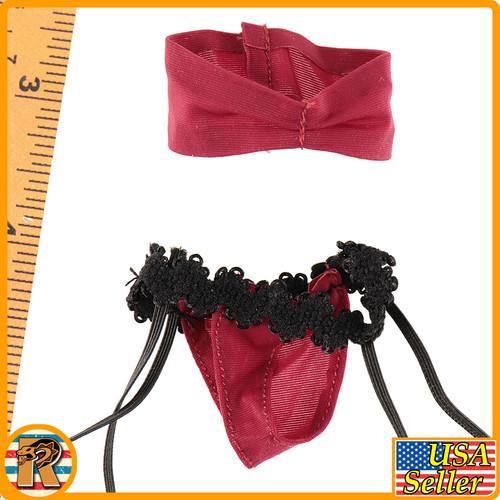 Bomb Girl - Underwear & Bra & Stockings - 1/6 Scale -