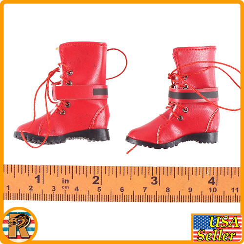 Fantasy Fighting Goddess - Boots (for Feet) - 1/6 Scale -