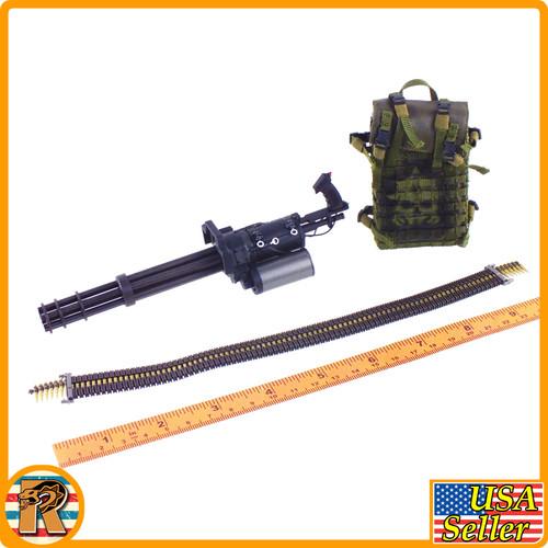 Yuri Enforcer Corps - M134 Minigun Set - 1/6 Scale -