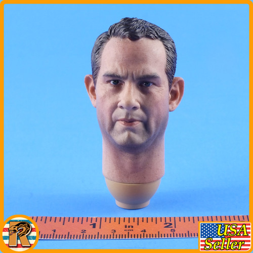 Navy Destroyer Commander - Head w/ Neck Joint - 1/6 Scale -