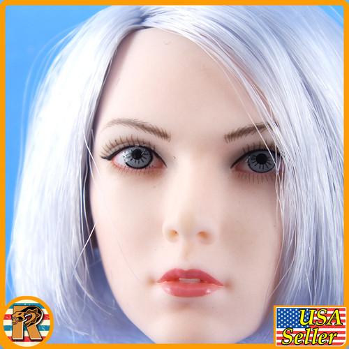 Raider Lillian Shark Queen - Head Sculpt - 1/6 Scale -