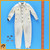 Kurt Meyer - Reversable  Jumpsuit White & Green w/ Badges - 1/6 Scale -