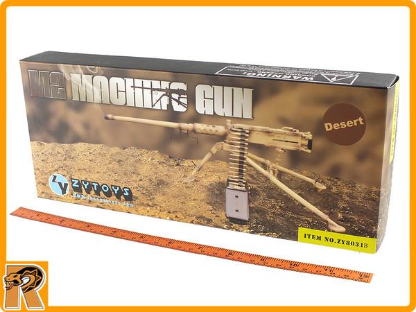 US Browning M2 Machine Gun Set (Desert) -1/6 Scale - New in Box