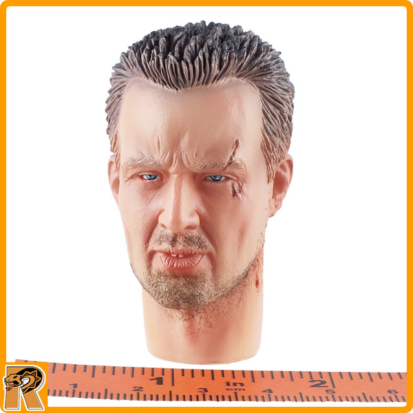 60047 US Heads - Head w/ Scar #2 - 1/6 Scale -