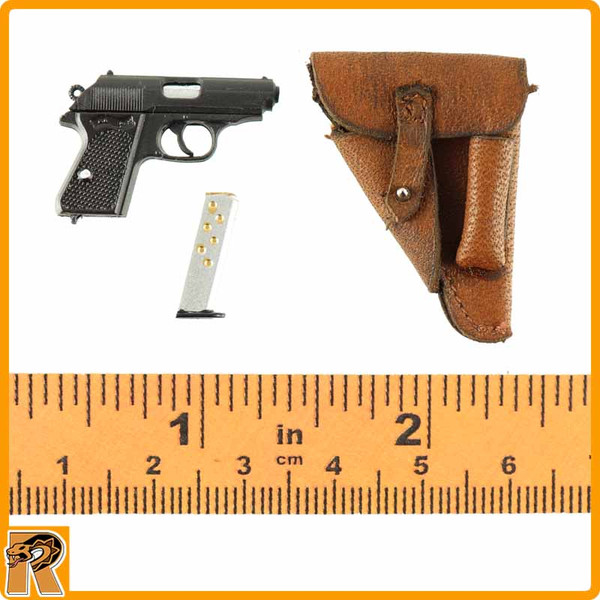 Paul Hausser Waffen SS - Walther PPK Pistol - 1/6 Scale -