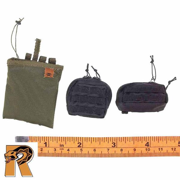 SWAT Pointman Denver - Pouches Set of 3 - 1/6 Scale -