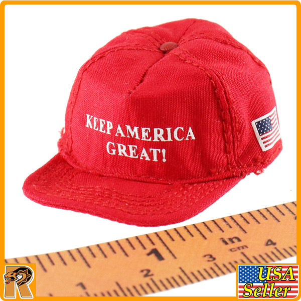 Donald Trump 2020 - Keep America Great Hat - 1/6 Scale -
