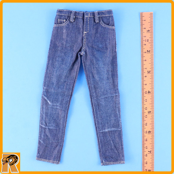 CIA Armed Agents - Blue Jeans Pants - 1/6 Scale -