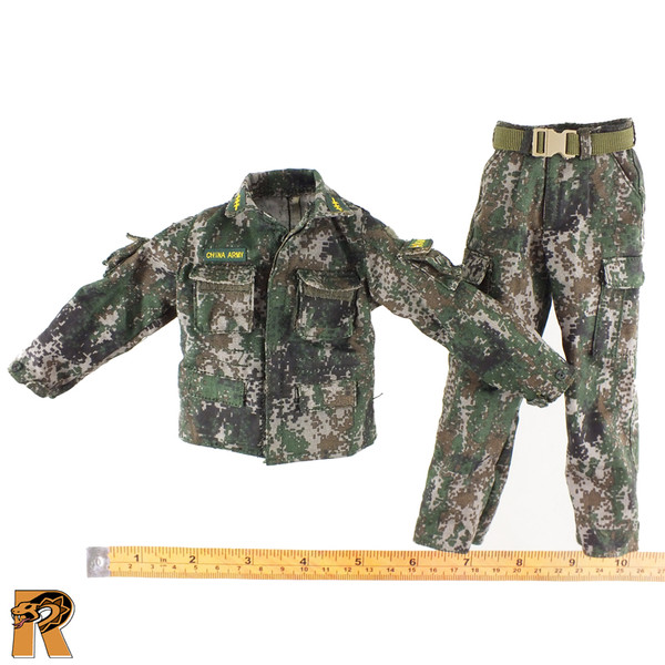 UN Chinese Peacekeepers - Type 07 Uniform Set - 1/6 Scale -