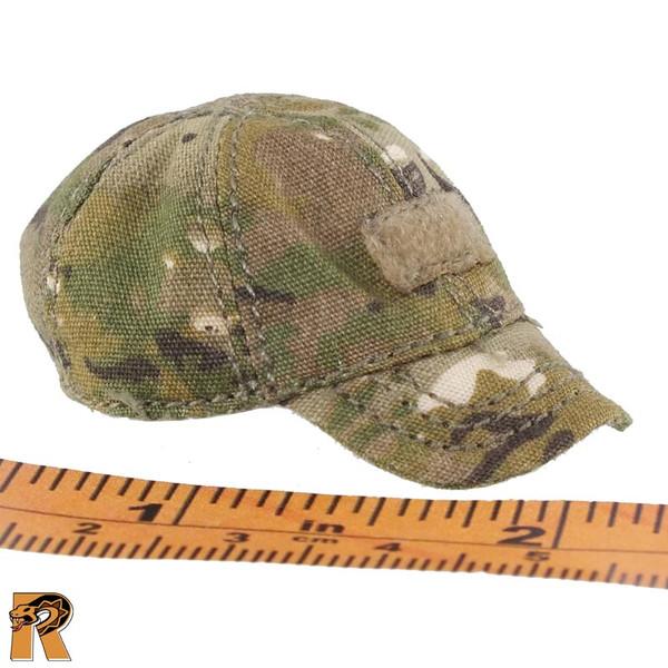 CT014 Military Female - Tan Ball Cap A - 1/6 Scale -