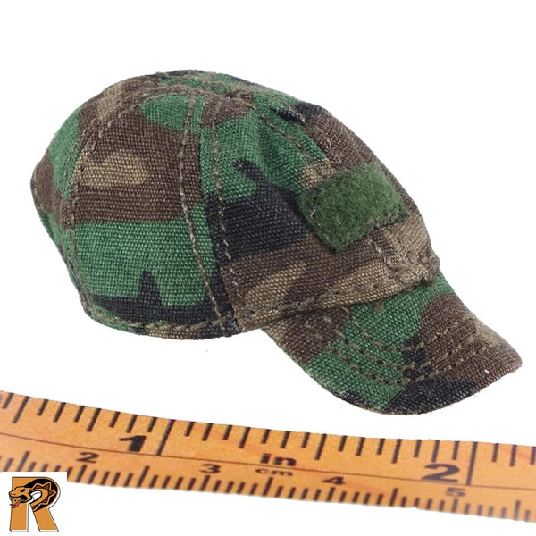 CT014 Military Female - Green Ball Cap B - 1/6 Scale -