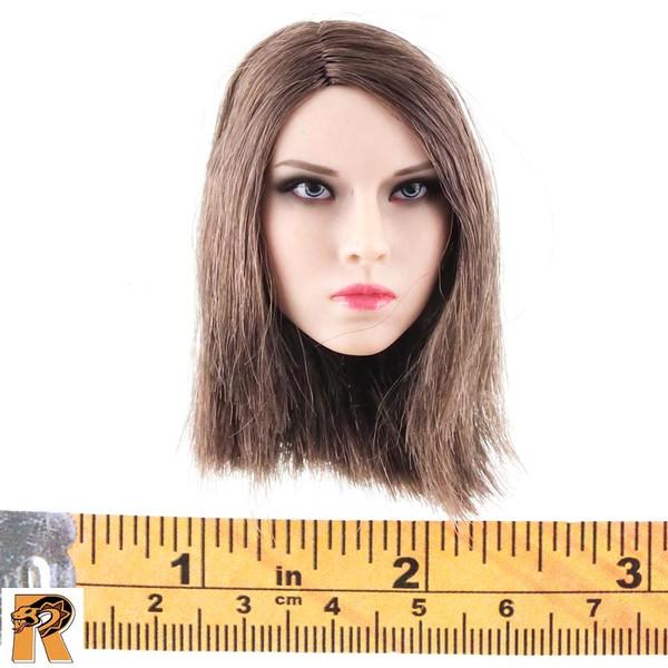 CT014 Military Female - Head w/ Short Hair A - 1/6 Scale -