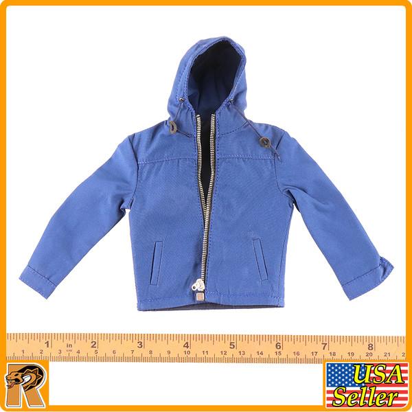 Parker Field Trip 1016A - Blue Hooded Jacket #1 - 1/6 Scale -
