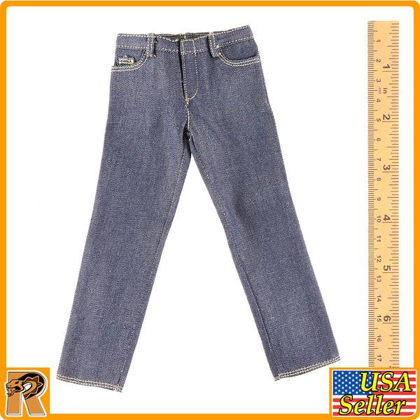 Parker Field Trip 1016B - Blue Jeans Pants - 1/6 Scale -