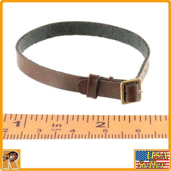 Parker Field Trip 1016B - Brown Leather Belt - 1/6 Scale -