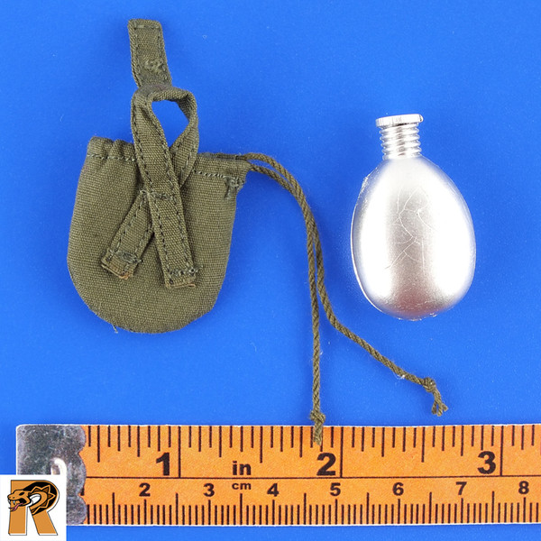 Soviet Red Navy - Canteen & Pouch - 1/6 Scale