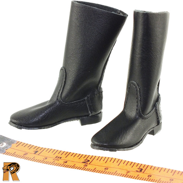 Soviet Red Navy - Tall Boots for Feet - 1/6 Scale