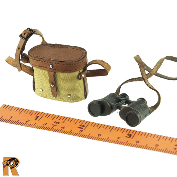 Red Army Senior Officer - Binoculars & Case - 1/6 Scale