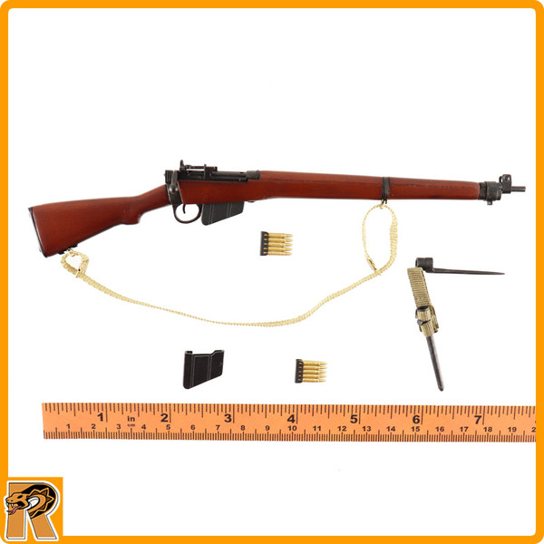 Charlie *A* Red Devils SGT - Lee Enfield Rifle (Wood & Metal) - 1/6 Scale -