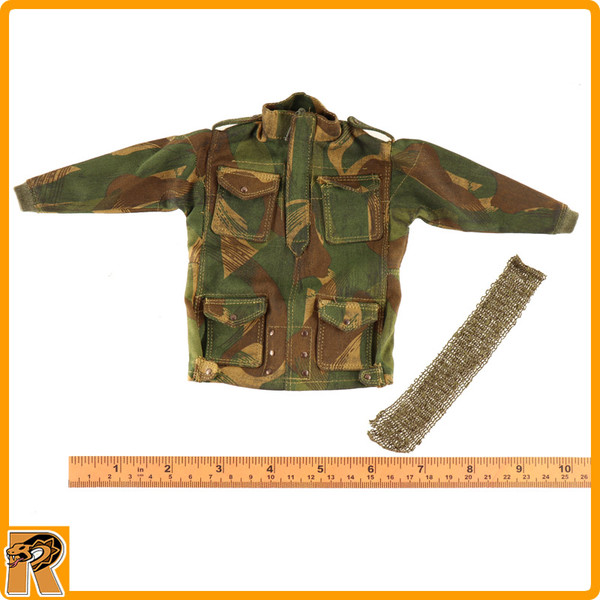 Charlie *A* Red Devils SGT - Camo Smock & Scarf - 1/6 Scale -