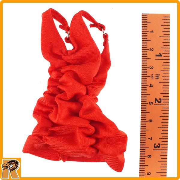 Female Zombie Killer - Red Mini Dress - 1/6 Scale -