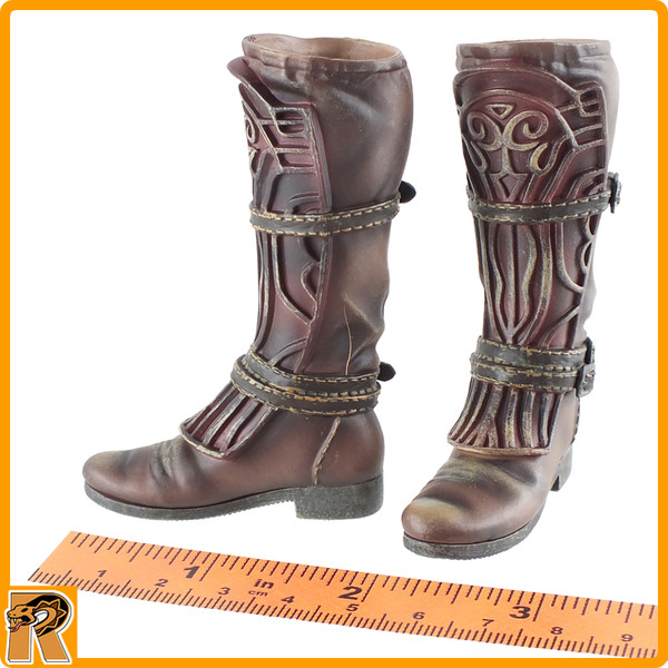 Blood Hunter - Tall Boots for Pegs - 1/6 Scale -