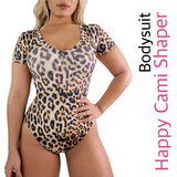 Happy Cami Shaper Bodysuit Short Sleeves