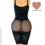 HAPPY BUTT No.7 BODYSUIT DOUBLE TUMMY LAYER ABOVE KNEE