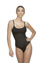 LEA Thong Body Suit - BLACK