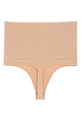 High-Waisted Thong Panty Shaper NUDE