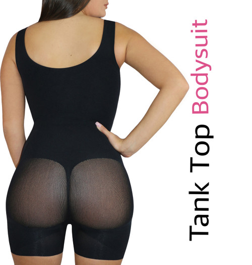 Happy Butt N°7 Tank Top Bodysuit Shorts