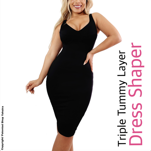 Dress Shaper Triple Tummy Layer